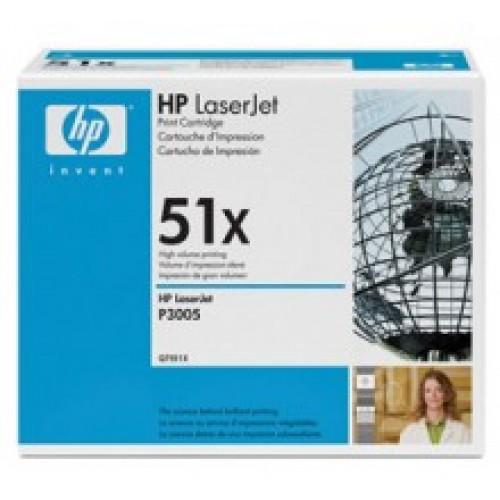 Картридж HP Q7551X для LJ P3005/M3035mfp/M3027mfp, 13000 страниц