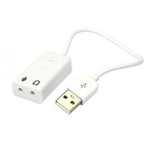 Звуковая плата KLSIN-826W USB 2.0 3D Virtual 7.1