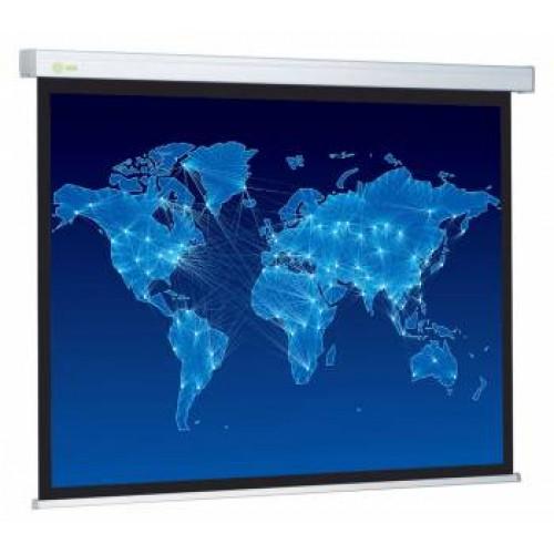 Экран настенный Cactus 150x150см Wallscreen CS-PSW-150x150 1:1 настенно-потолочный рулонный белый