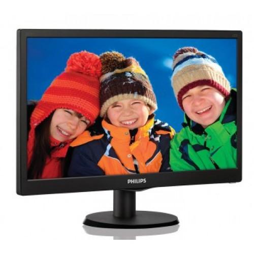 Монитор Philips 203V5LSB26 (10/62) черный TN+film LED 5ms 16:9 Mat 200cd 19.5