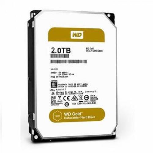 Жесткий диск WD  2Tb WD2005FBYZ  Gold (7200rpm) 128Mb 3.5