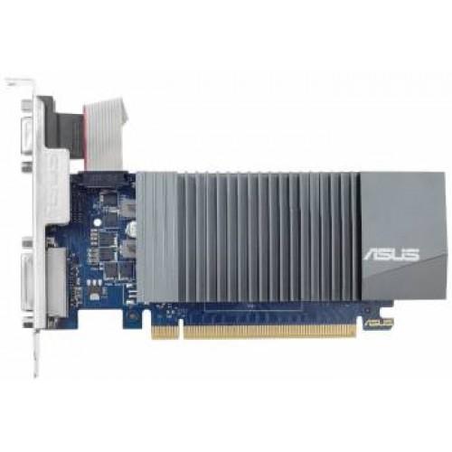 Видеокарта ASUS PCI-E1024Mb GT710-SL-1GD5-BRK NV GT710 1024Mb 32b GDDR5 954/1800 DVIx1/HDMIx1/CRTx1/