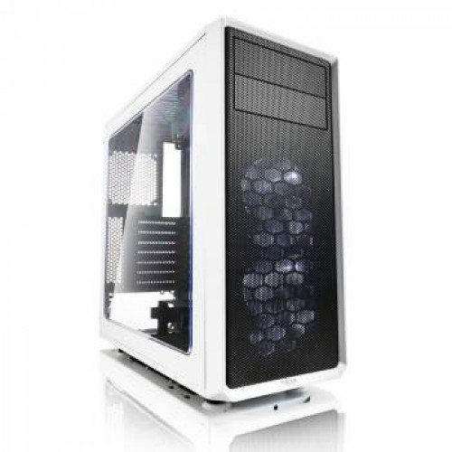 Корпус Fractal Design FOCUS G Window белый без БП ATX 6x120mm 4x140mm 1xUSB2.0 1xUSB3.0 audio bott P