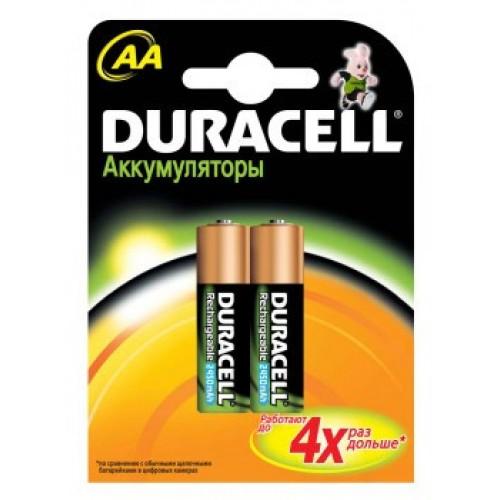 Аккумулятор Duracell HR6-2BL AA NiMH 2500mAh (2шт)