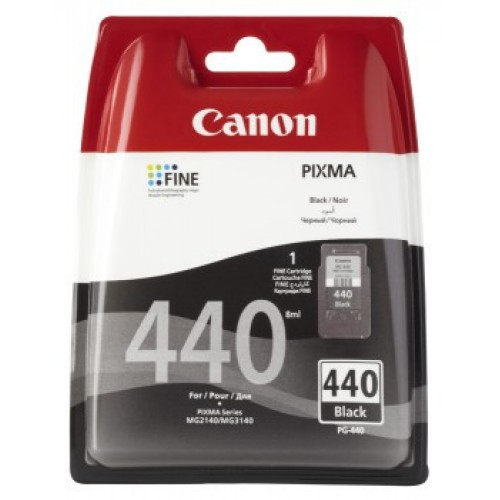 Картридж CANON PG-440 5219B001 черный для Canon MG2140/3140