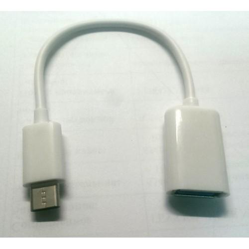 Кабель - переходник USB OTG microUSB [K] KLSIN-926