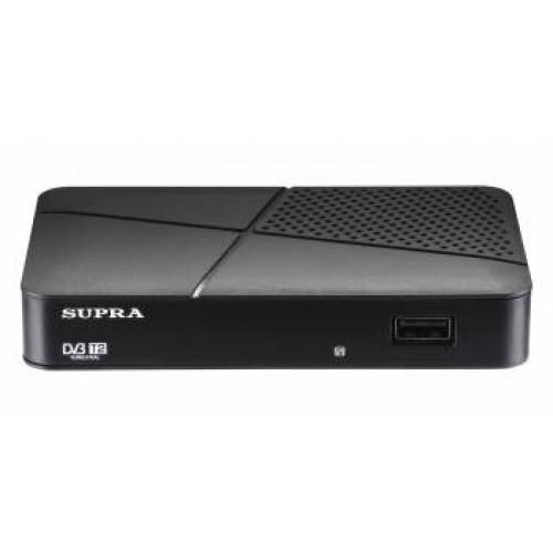 Ресивер DVB-T2 Supra SDT-75 черный