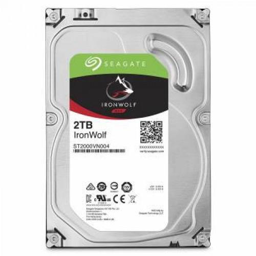 Жесткий диск Seagate  2Tb ST2000VN004 NAS Ironwolf (5900rpm) 64Mb 3.5