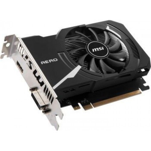 Видеокарта MSI PCI-E 2048Mb GT 1030 AERO ITX 2GD4 OC NV GT1030 2048Mb 64b DDR4 1189/2100 DVIx1/HDMIx