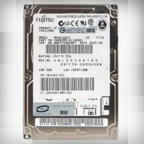 Жесткий диск Fujitsu 100Gb MHV2100AT  (4200 rpm) IDE 2.5