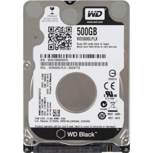 Жесткий диск WD 500Gb WD5000LPLX Black (7200rpm) 32mb 2,5