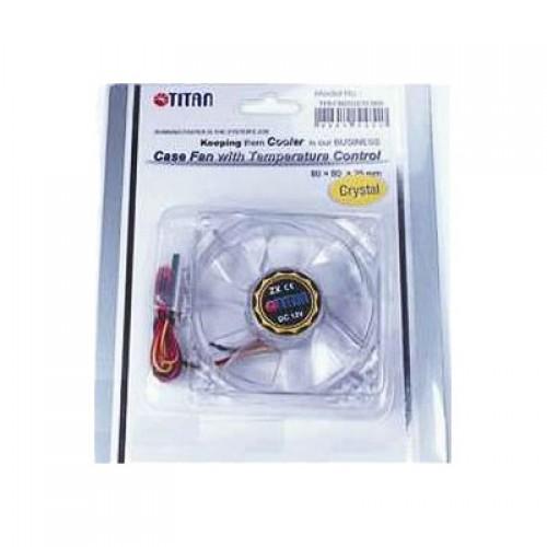 Вентилятор в корпус 80x80 Titan TFD-C802512Z/TC(RB)  3-pin 23dB 100gr Ret