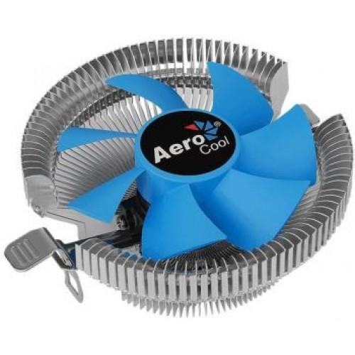 Вентилятор для процессора Aerocool Verkho A-3P Soc-FM2+/AM2+/AM3+/AM4/ 3-pin 29dB Al 100W 230gr R