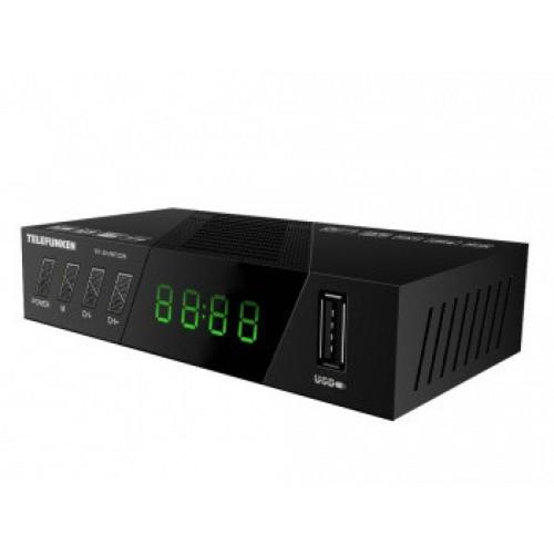 Ресивер DVB-T2 Telefunken TF-DVBT226 черный