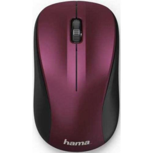 Мышь Hama MW-300 розовый (1200dpi) беспроводная USB для ноутбука (3but) (00182624)