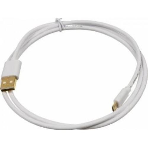 Кабель USB micro BEHPEX 2A Square micro USB B (m) USB A(m) 1м белый