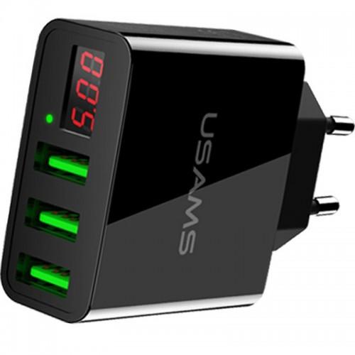 Зарядное уст-во USAMS US-CC035 Output: 5V-3.0A