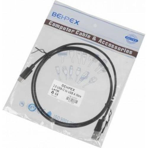 Кабель USB Type C ВЕНРЕХ (m) USB A(m) 1м