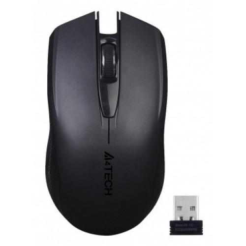 Мышь A4 G11-760N черный оптическая (1000dpi) беспроводная USB (3but)