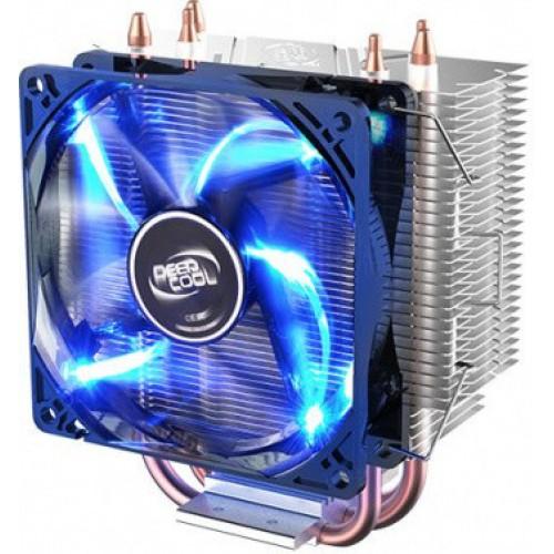 Вентилятор для процессора DeepCool GAMMAXX 300 Soc-1150/1155/AM2+/AM3+/FM1/FM2 4pin 18-35dB Al+Cu 95