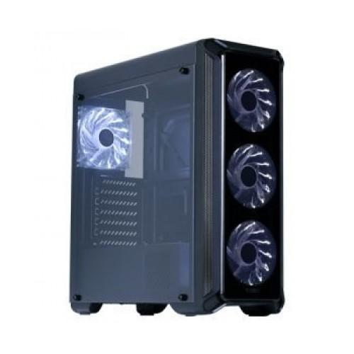 Корпус Zalman i3 edge i3 edge черный без БП ATX 2x120mm 2xUSB2.0 1xUSB3.0 audio bott PSU