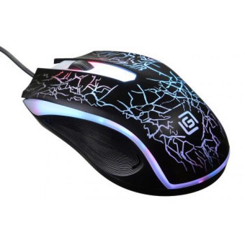 Мышь Oklick 395M SHADOW черный оптическая (1500dpi) USB (2but)