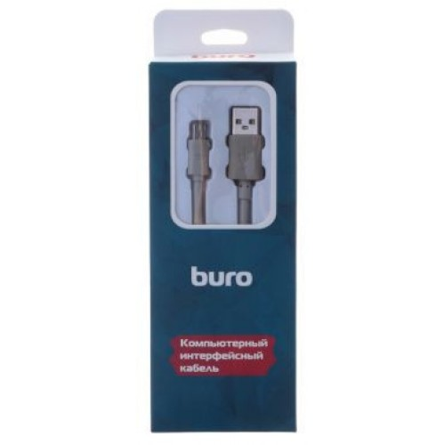 Кабель USB Mini Buro BHP RET USB_MINI18 USB A(m) mini USB B (m) 1.8м серый (485553 )