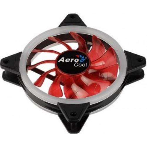 Вентилятор в корпус 120х120 Aerocool Rev Red 120x120 3-pin 15dB 153gr LED Ret