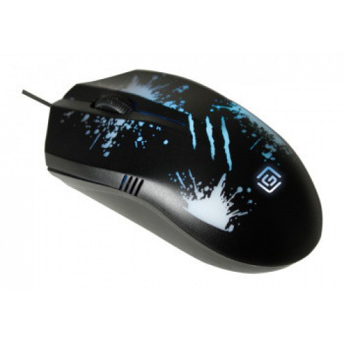 Мышь Oklick 399M STIGMA черный оптическая (1000dpi) USB (3but)
