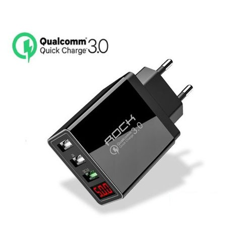 Зарядное уст-во ROCK SX-Q1U2 Quick Charge 3.0