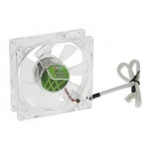 Вентилятор в корпус 90x90 Titan TFD-9225GT12Z/V2(RB) green  3-pin 12dB