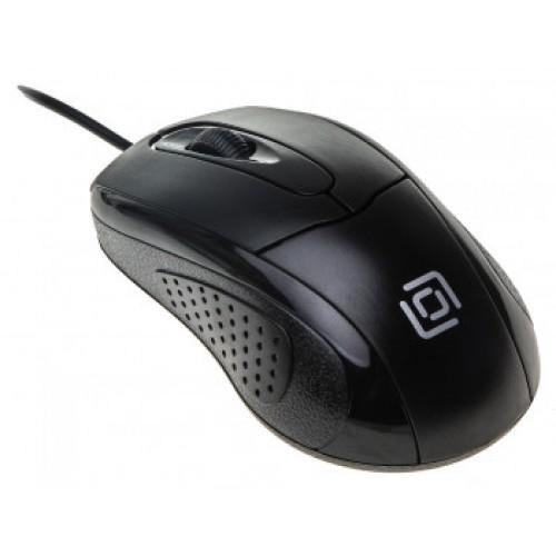 Мышь Oklick 305M черный оптическая (1000dpi) USB (2but)