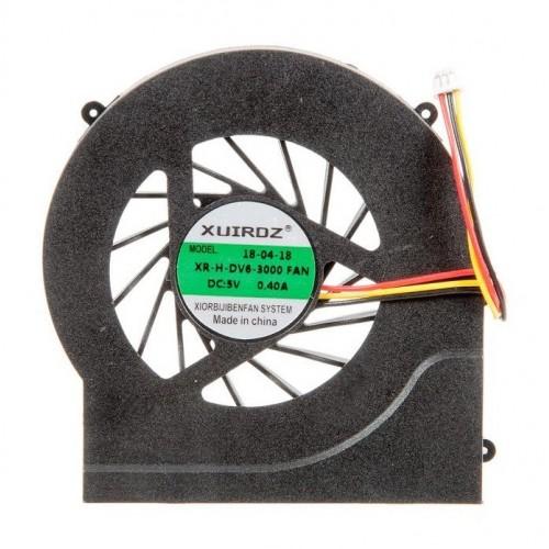 Вентилятор для ноутбука HP DV7-4000, dv6-4000, dv6-3000 (KSB0505HA-9J99)