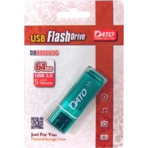 Память Flash USB 128Gb Dato DB8002U3 DB8002U3G-128G USB3.0 зеленый