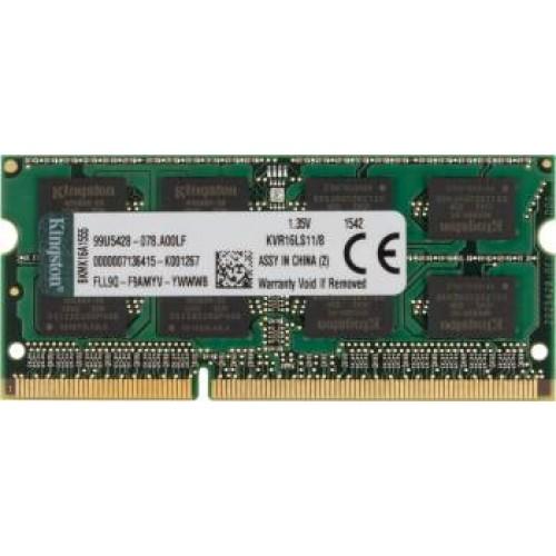 ОЗУ8192 Mb SO-DIMM DDRIIIL 1600MHz Kingston 1.35V