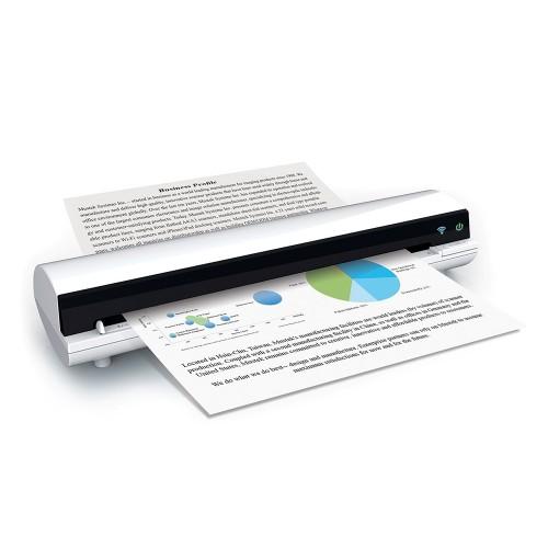 Сканер Mustek S400W (87-367-01021) A4/CIS/600x600dpi/24bit/USB 2.0/WiFi портативный протяжный