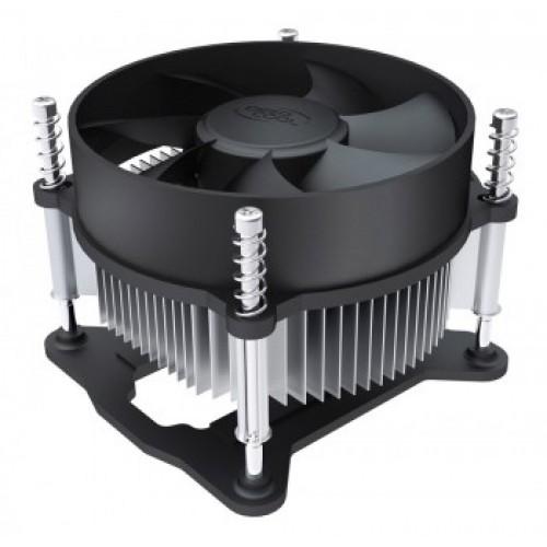 Вентилятор для процессора DeepCool CK-11508 Soc-1150/1155/1156 3pin 25dB Al 65W 245g винты