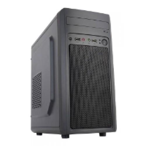 Корпус ACCORD M-02B черный w/o PSU mATX 2*USB2.0 audio