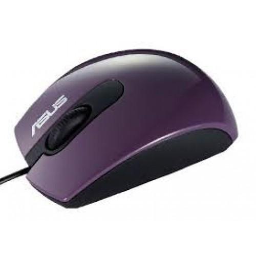 Мышь ASUS UT210 фиолетовый (1000dpi) USB для ноутбука