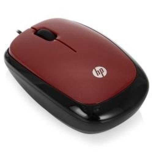 Мышь HP X1200 красный (H6F01AA)